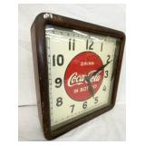 VIEW 2 WORKS CLEAN COKE CLOCK