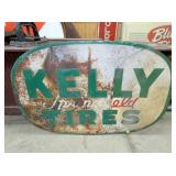 40X60 KELLY TIRES SIGN