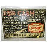 21X30 FRIEDMAN SHELBY SHOE SIGN