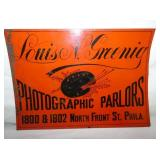 10X14 LOUIS N. GREENING TACKER SIGN