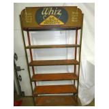 WHIZ OIL DISPLAY RACK
