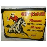 VIEW 2 CLOSEUP RED RYDER SALESMAN BRIEFCASE