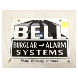 9X11 PORC. BELL SYSTEMS SIGN