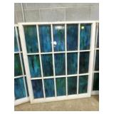 43X52 STAINED GLASS WINDOWS
