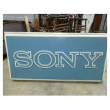 37X73 SONY LIGHTED CAN SIGN