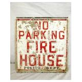 20X24 EMB. LETTER FIRE HOUSE SIGN