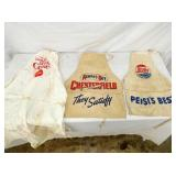 DOUBLE DOT PEPSI,CHESTERFIELD,COKE APRONS