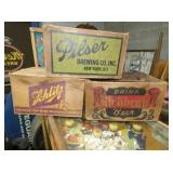 EARLY BEER CARDBOARD BOXES