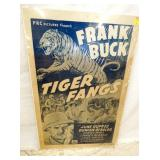 27X41 TIGER FANGS POSTER