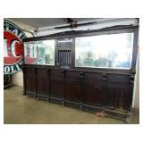 VIEW 2 UNUSUAL MOTEL/BANK/POSTAL BACKBAR WINDOW
