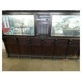 VIEW 5 UNUSUAL MOTEL/BANK/POST OFFICE BACKBAR WINDOW