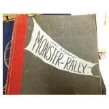 1950 CHAS ADDAMS MONSTER RALLY BOOK