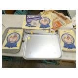 NOS MENUS AND SERVING TRAYS