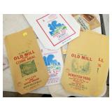 OLD MILL CORN MEAL SACKS