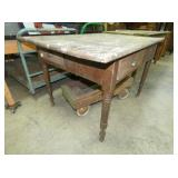 VEIW 2 OLD SALEM TABLE W/ DRAWERS
