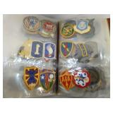 ARIOUS MILITARY PATCHES