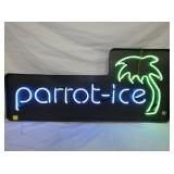 18X40 PARROT ICE NEON