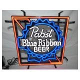 12X12 PABST BLUE RIBBON BEER