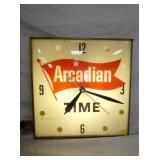 ARCADIAN LIGHT UP CLOCK