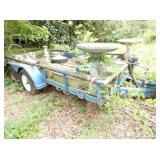 14FT. DUAL AXLE TRAILER