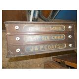 COATS SPOOL CABINET