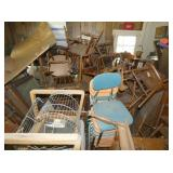 NUMEROUS CHAIRS