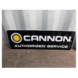 CANNON AUTHORIZED SERVICE SIGN