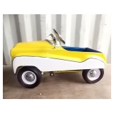 PEDAL CAR W/ WINDSHIELD