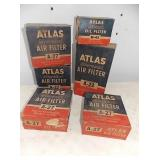 OLD STOCK ATLAS AIR FILTERS