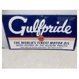 GULFPRIDE OIL SIGN