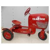 EARLY 1950 PEDAL TRACTOR ORG. PAINT