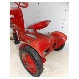 VEIW 4 REAR VIEW PEDAL TRACTOR