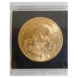 VIEW 2 BACKSIDE 1904 $20 GOLD COIN