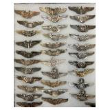 3IN STERLING MILITARY WINGS