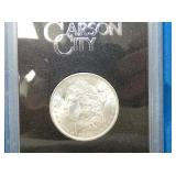 1883 UNC CARSON CITY MORGAN SILVER DOLLAR