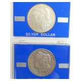 1888,1890 MORGAN SILVER DOLLARS
