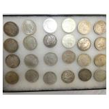 MORGAN AND PEACE SILVER DOLLARS