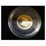 2007 1/25 OZ GOLD COIN