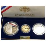 1993 BILL OF RIGHTS COIN PROOF SET