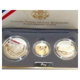 1991 MT. RUSHMORE ANN. COINS SET