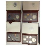 1984 OFFICIAL US OLYMPIC GOLD/SILVER COIN SETS
