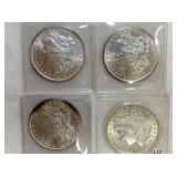 1882,1896,1889 MORGAN SILVER DOLLARS