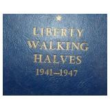 COMPLETE SEST 1941-1947 LIBERTY WALKING HALVES