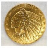 1913 $5 GOLD INDIAN HEAD