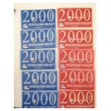 2000 UNC COIN SETS