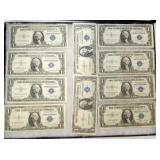 $1 DOLLAR BLUE SEAL CERTIFICATES