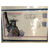 1986 STATUE LIBERTY COIN