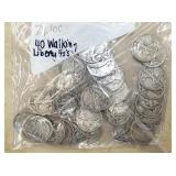 40 WALKING LIBERTY SILVER HALVES
