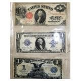 1889/1912/1923 LARGE NOTES