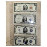 RED SEAL & SILVER CERTIFICATES